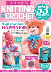 Let's Get Crafting Knitting & Crochet - Issue 127 - December 2020