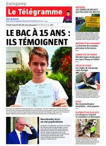 Le Télégramme Guingamp – 05 juillet 2019