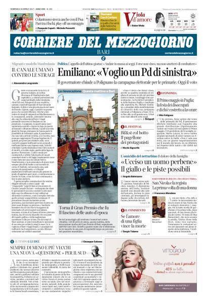 Corriere della Sera Edizioni Locali - 30 Aprile 2017