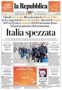 la Repubblica - 21 Marzo 2020