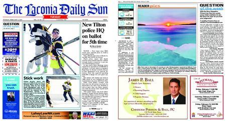 The Laconia Daily Sun – February 04, 2020
