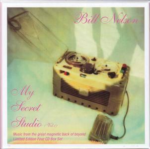 Bill Nelson - My Secret Studio, Vol. 1 (2017) {4CD Box Set Cocteau Discs COCD 41013 rec 1988-1992}