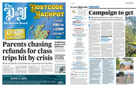 The Press and Journal Moray – July 20, 2020