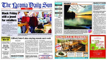 The Laconia Daily Sun – November 27, 2020