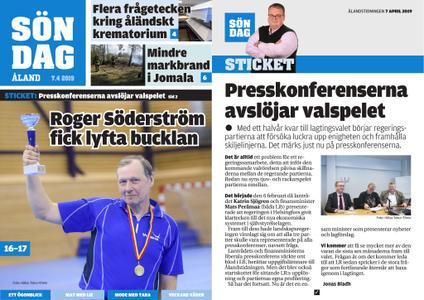 Ålandstidningen – 07 april 2019