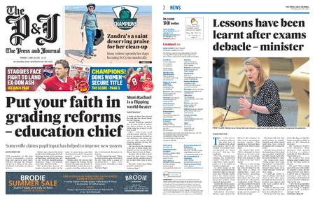 The Press and Journal Moray – June 28, 2021