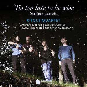 Kitgut Quartet - Tis too late to be wise (2020) [Official Digital Download 24/96]