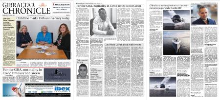 Gibraltar Chronicle – 28 June 2021