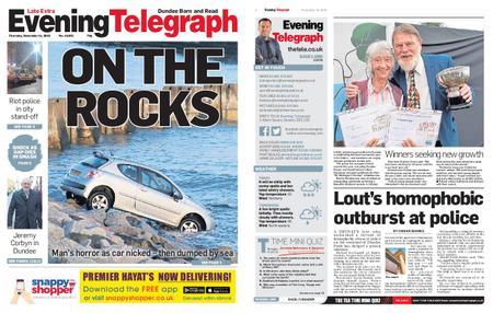Evening Telegraph First Edition – November 14, 2019