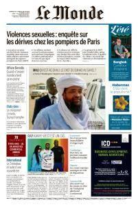 Le Monde du Dimanche 29 et Lundi 30 Juillet 2018