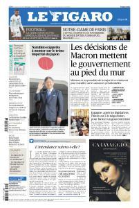 Le Figaro du Lundi 29 Avril 2019
