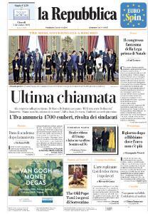 la Repubblica - 5 Dicembre 2019