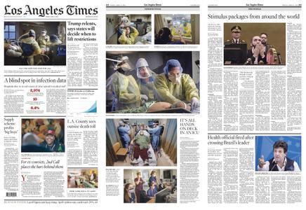 Los Angeles Times – April 17, 2020