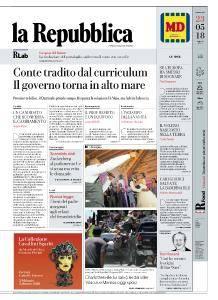 la Repubblica - 23 Maggio 2018