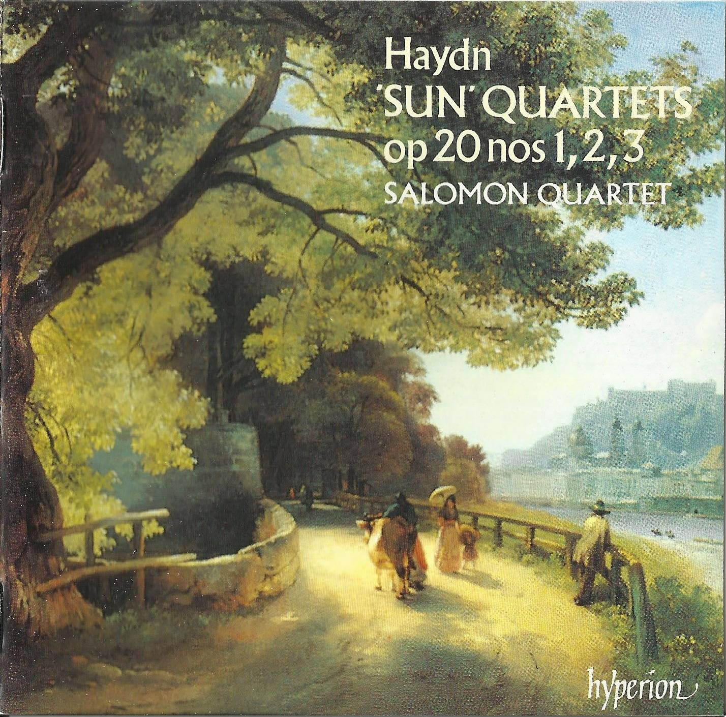 "The Salomon String Quartet - Haydn: The ""Sun"" String Quartets, Op. 20 Nos. 1-3 (1991)"