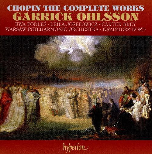 Garrick Ohlsson - Chopin: The Complete Works (2008) (16 CDs Box Set)