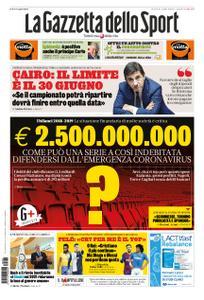 La Gazzetta dello Sport Roma – 26 marzo 2020