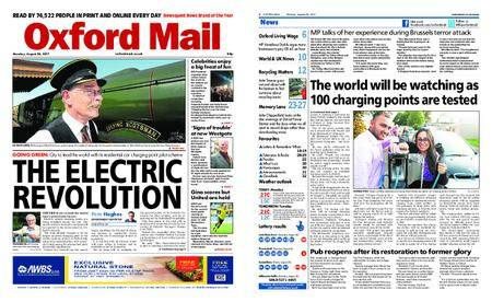 Oxford Mail – August 28, 2017