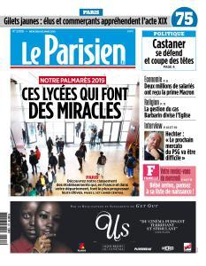 Le Parisien du Mercredi 20 Mars 2019