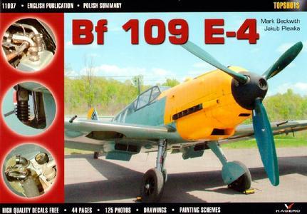 Bf 109 E-4 (Kagero Topshots 1107)