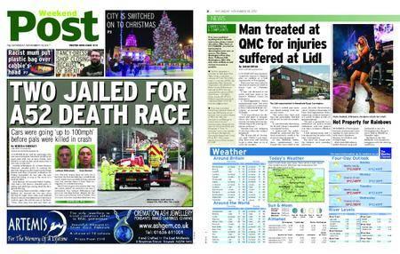 Nottingham Post – November 18, 2017