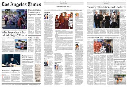Los Angeles Times – September 28, 2020