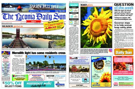 The Laconia Daily Sun – August 30, 2019