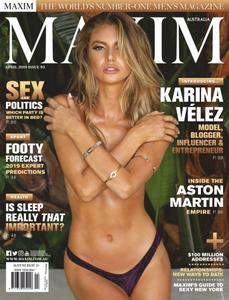 Maxim Australia - April 2019