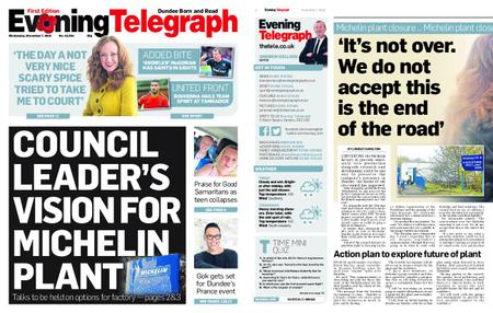 Evening Telegraph First Edition – November 07, 2018
