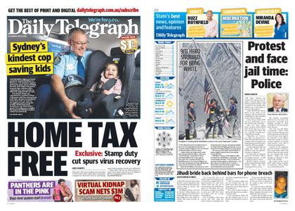 The Daily Telegraph (Sydney) – July 27, 2020