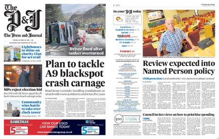 The Press and Journal Moray – October 29, 2019