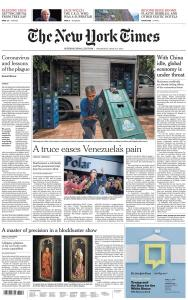 International New York Times - 4 March 2020