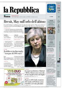 la Repubblica - 16 Gennaio 2019