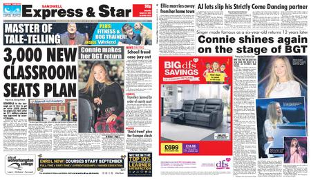 Express and Star Sandwell Edition – August 31, 2019