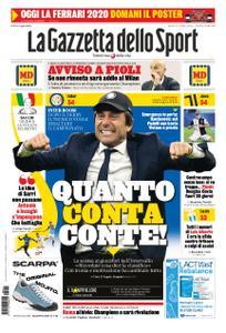 La Gazzetta dello Sport Roma – 11 febbraio 2020