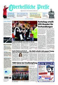 Oberhessische Presse Marburg/Ostkreis - 22. Januar 2018