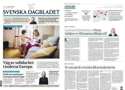 Svenska Dagbladet – 30 mars 2020