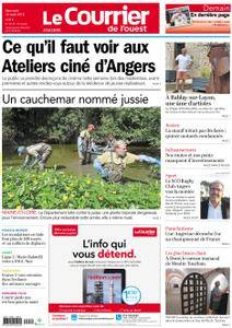 Le Courrier de l'Ouest Angers - 22 août 2018
