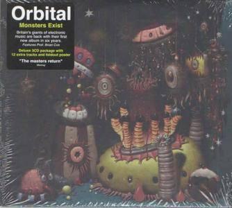 Orbital - Monsters Exist (3CD Deluxe Edition) (2018)