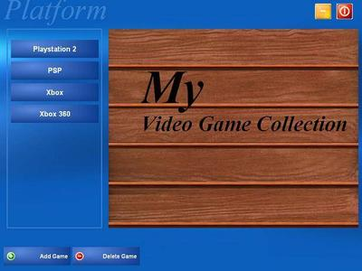 My Videogame Collection v1.00