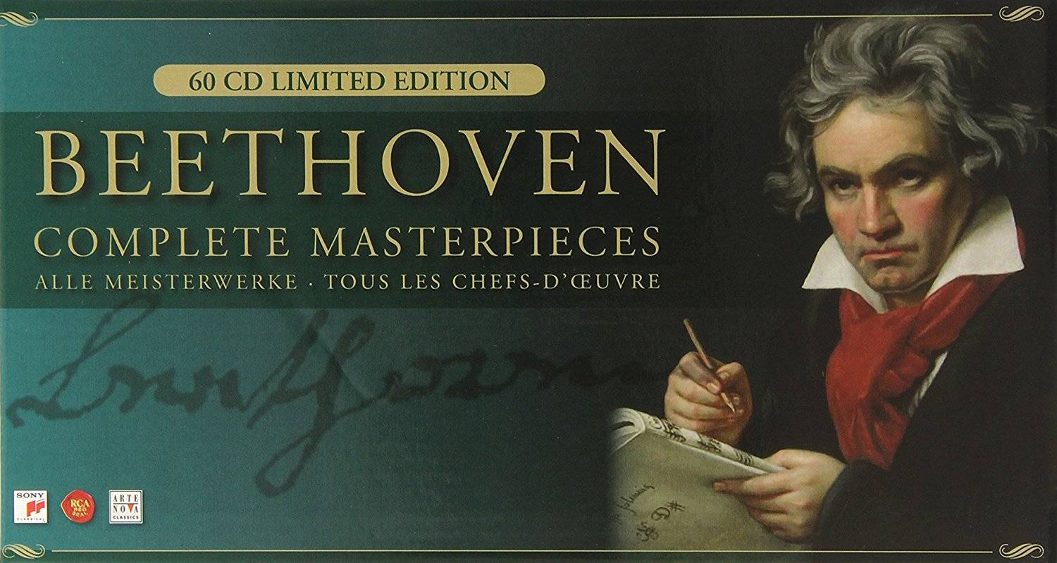 Ludwig van Beethoven - Complete Masterpieces (2007) (60 CD Box Set)