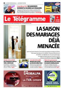 Le Télégramme Landerneau - Lesneven – 15 mars 2021
