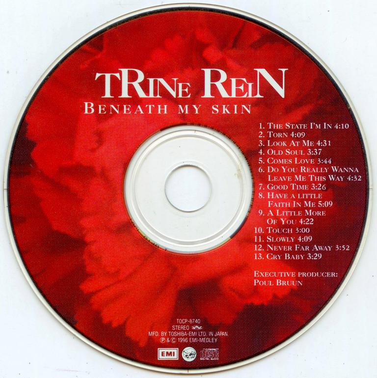 Trine Rein - Beneath My Skin (1996) {1998, Japanese Edition}