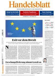 Handelsblatt - 06. September 2018