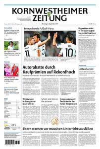 Kornwestheimer Zeitung - 05. September 2017