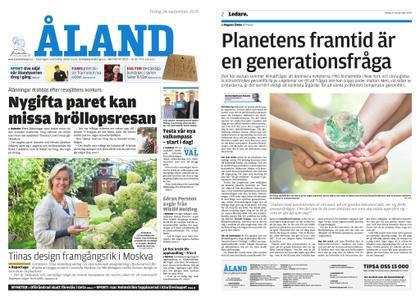 Ålandstidningen – 24 september 2019