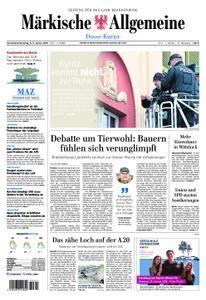 Märkische Allgemeine Dosse Kurier - 06. Januar 2018