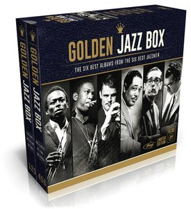 VA - Golden Jazz Box: The Six Best Albums From The Six Best Jazzmen (2015) [6CD Box Set, Deluxe Limited Edition]