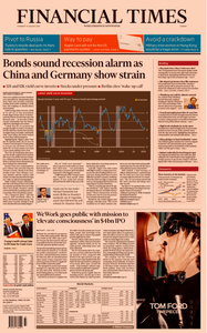Financial Times Europe – 15 August 2019