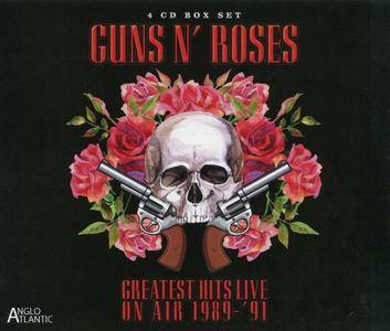 Guns N' Roses - Greatest Hits Live On Air 1989-'91 (2016) {4CD Box Set}